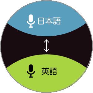Langie オンライン翻訳画面