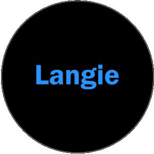 Langie スタート画面